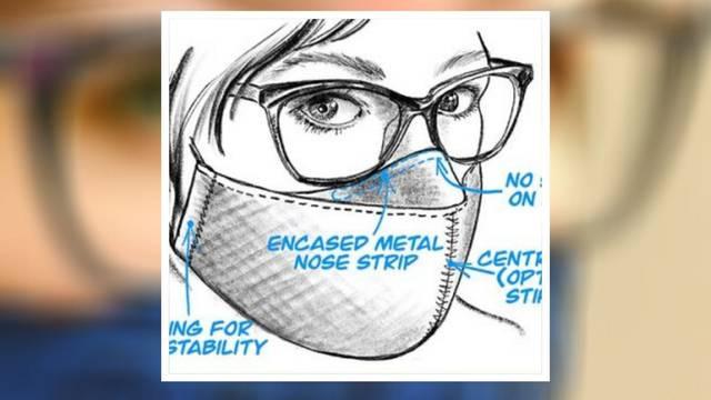 Napravili masku za lice od koje se navodno naočale ne magle