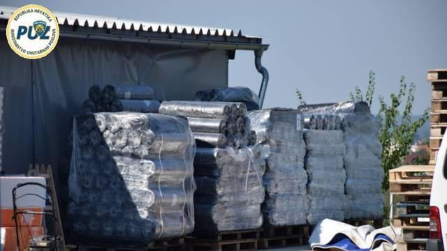 Hrvat i Srbin prevarili poljsku tvrtku i ukrali 110 tona folije