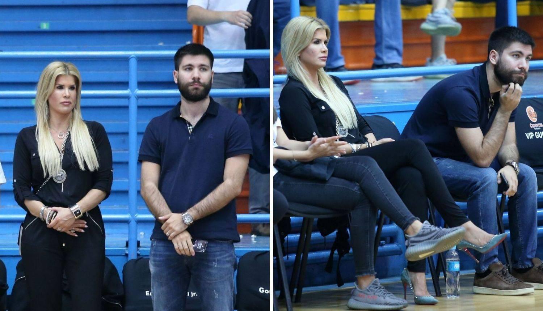 Tedeschi sa suprugom Nikom bodrio Cedevitu na utakmici...