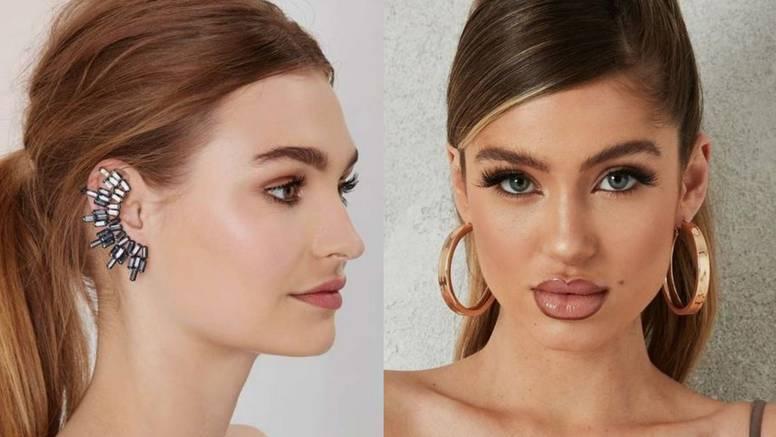 Kako naušnice mijenjaju vizuru lica: Raskošni ukrasi i kristali za ženstveni i glamurozan stil