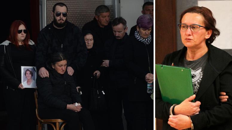 Smiljanu će u sudnici prvi put dočekati članovi njene obitelji