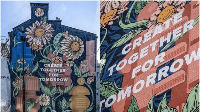 Eko i lijepo rješenje: Mural u Varšavi pročišćava zrak i smog