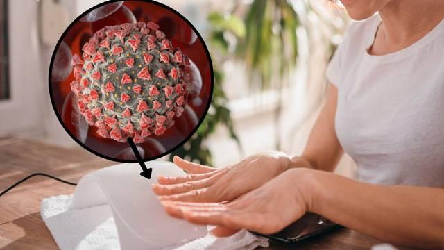 Korona virus na koži živi  9 sati - pet puta dulje od virusa gripe