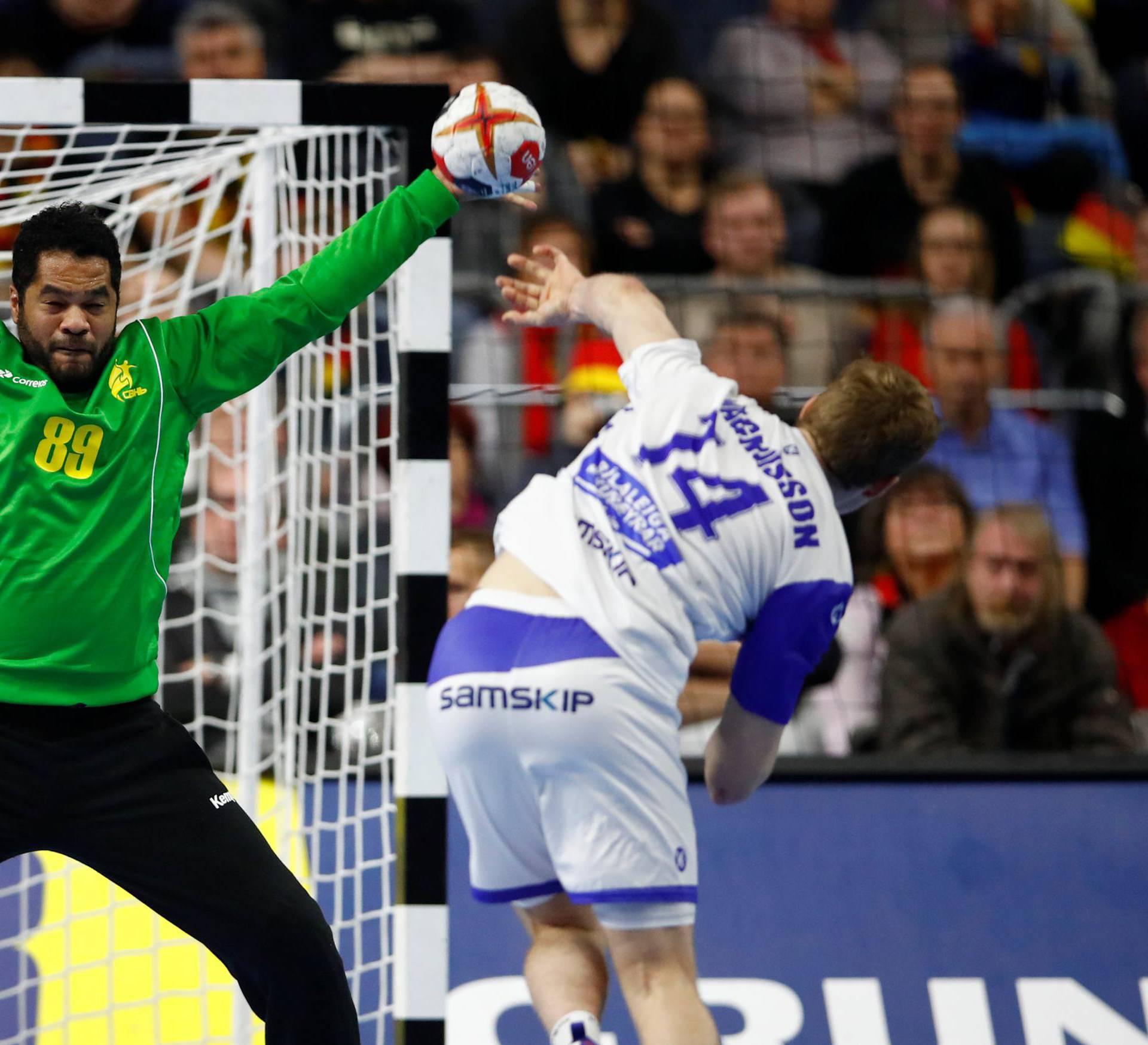 IHF Handball World Championship - Germany & Denmark 2019 - Main Round Group 1 - Brazil v Iceland