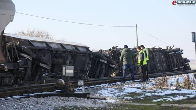 Vagoni iskočili iz tračnica blizu Koprivnice: Prevozio je kukuruz