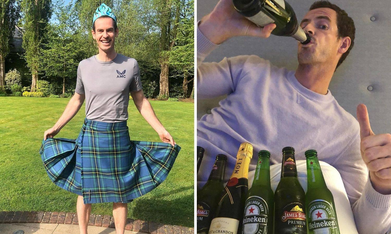 Kćeri poželjele, a tata uslišio: Murray na sebe obukao suknju