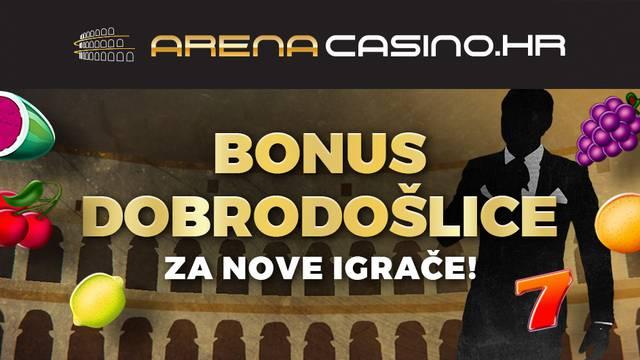 Otvoren je novi icasino – Arena Casino! Uzmite Bonus sad!