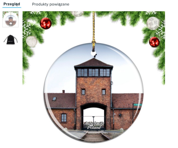 Užas: Amazon uklonio božićne ukrase sa slikama Auschwitza