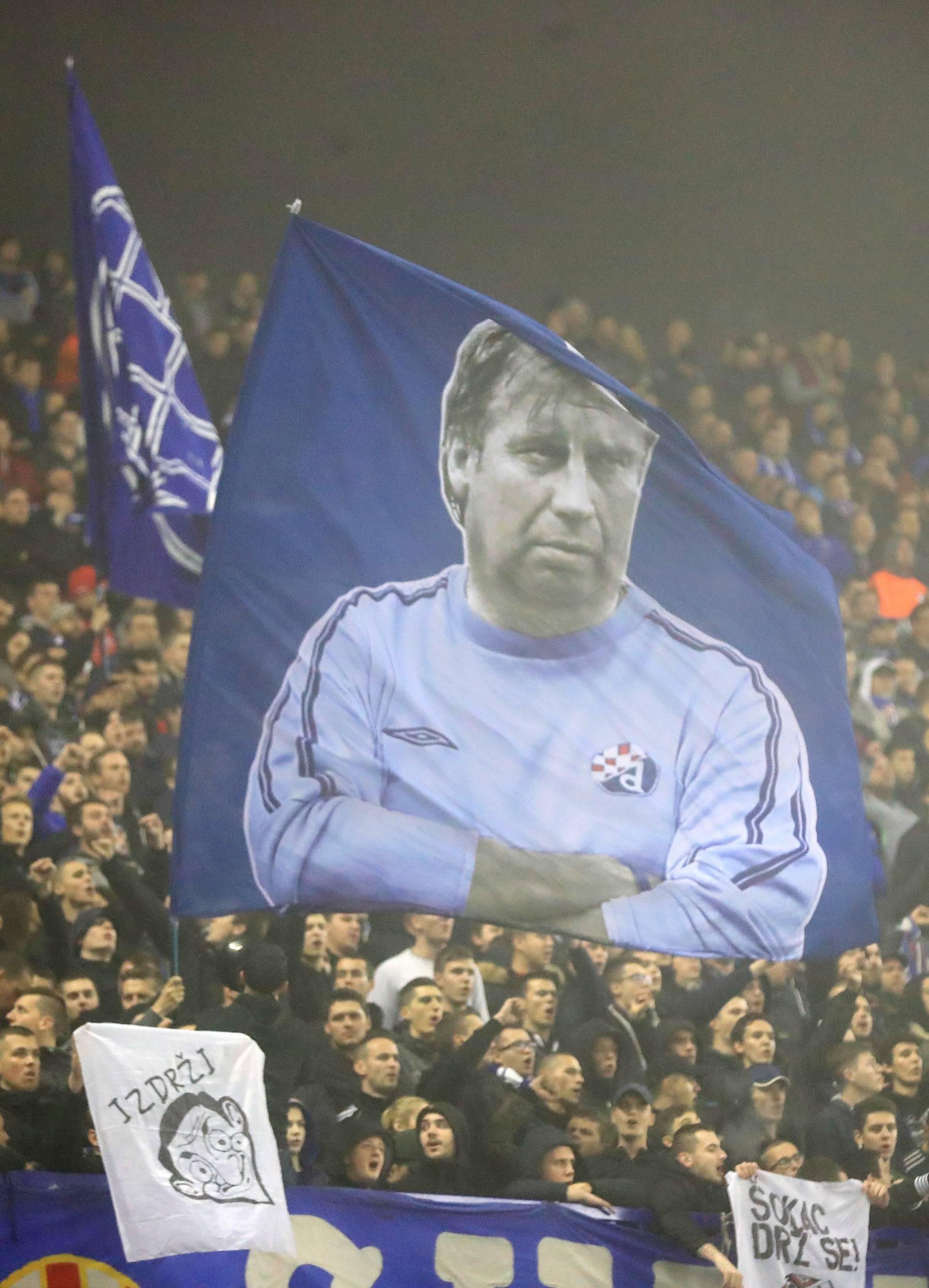 Zagreb: Atmosfera na utakmici Europske lige između Dinama i Spartak Trnave