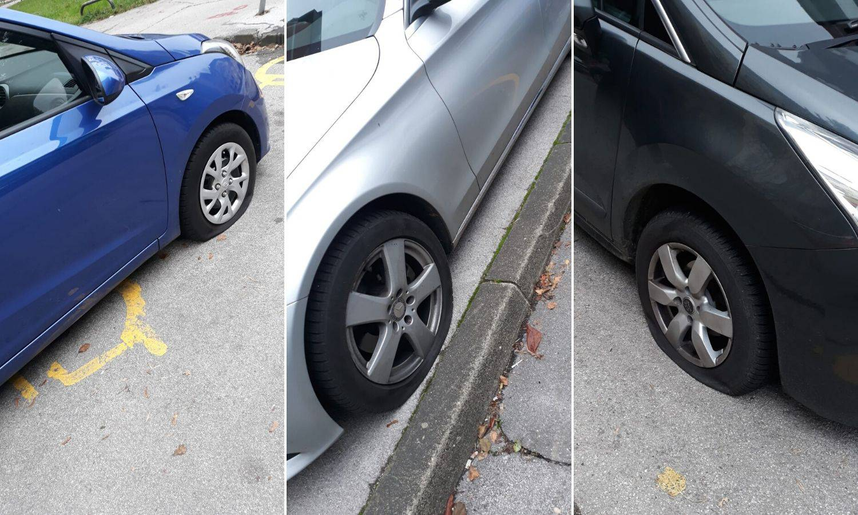 Na Jarunu bušili gume autima: 'Ciljali su na invalidska mjesta'