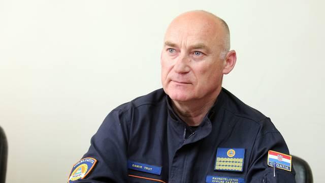 Šibenik: Damir Trut i predstavnici Ravnateljstva civilne zaštite i održali  sastanak sa županom  Paukom