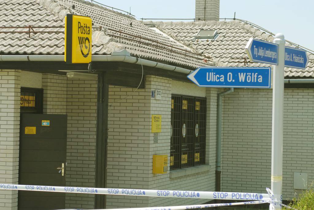 Naoružani razbojnik opljačkao je poštu u Sv. Križu Začretju
