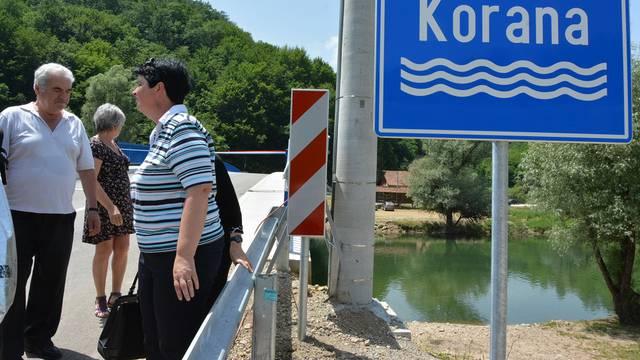 Vrijedan 1,2 mil. kuna: Pušten u promet most preko Korane