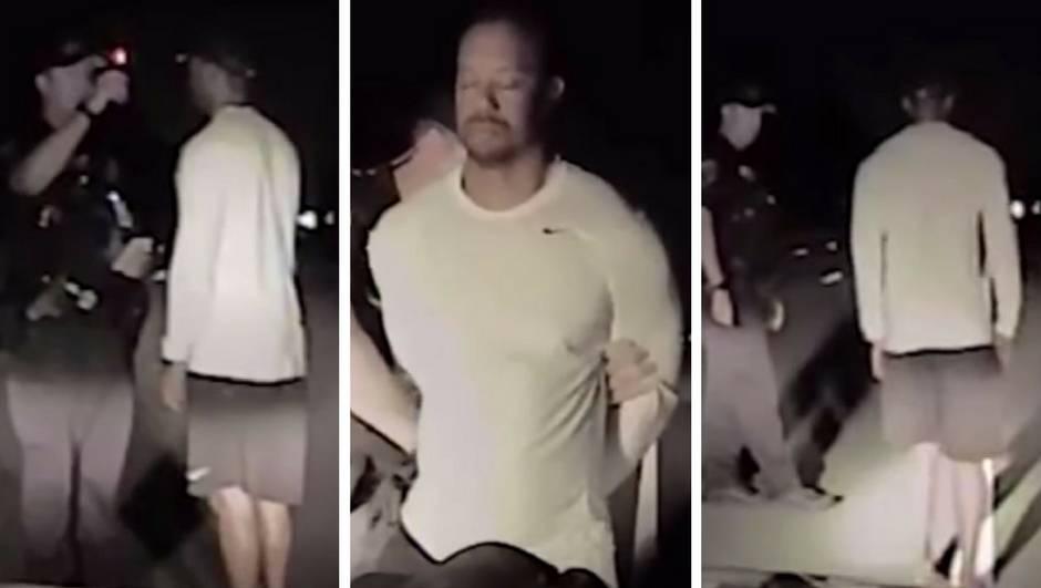 Policijska snimka: Pogledajte kako pijani Tiger Woods tetura