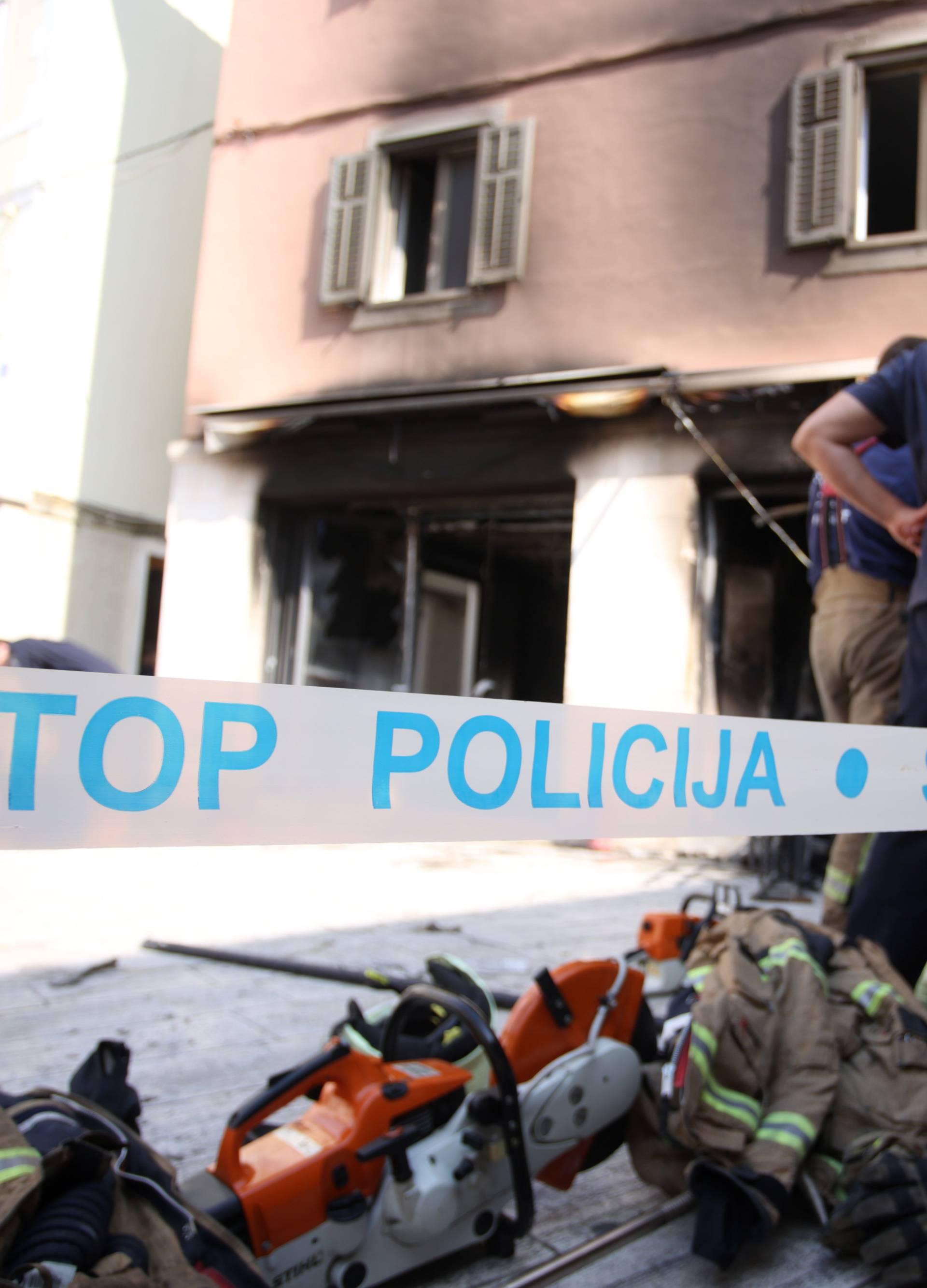 Jutro nakon požara u restoranu na Pjaci u Splitu
