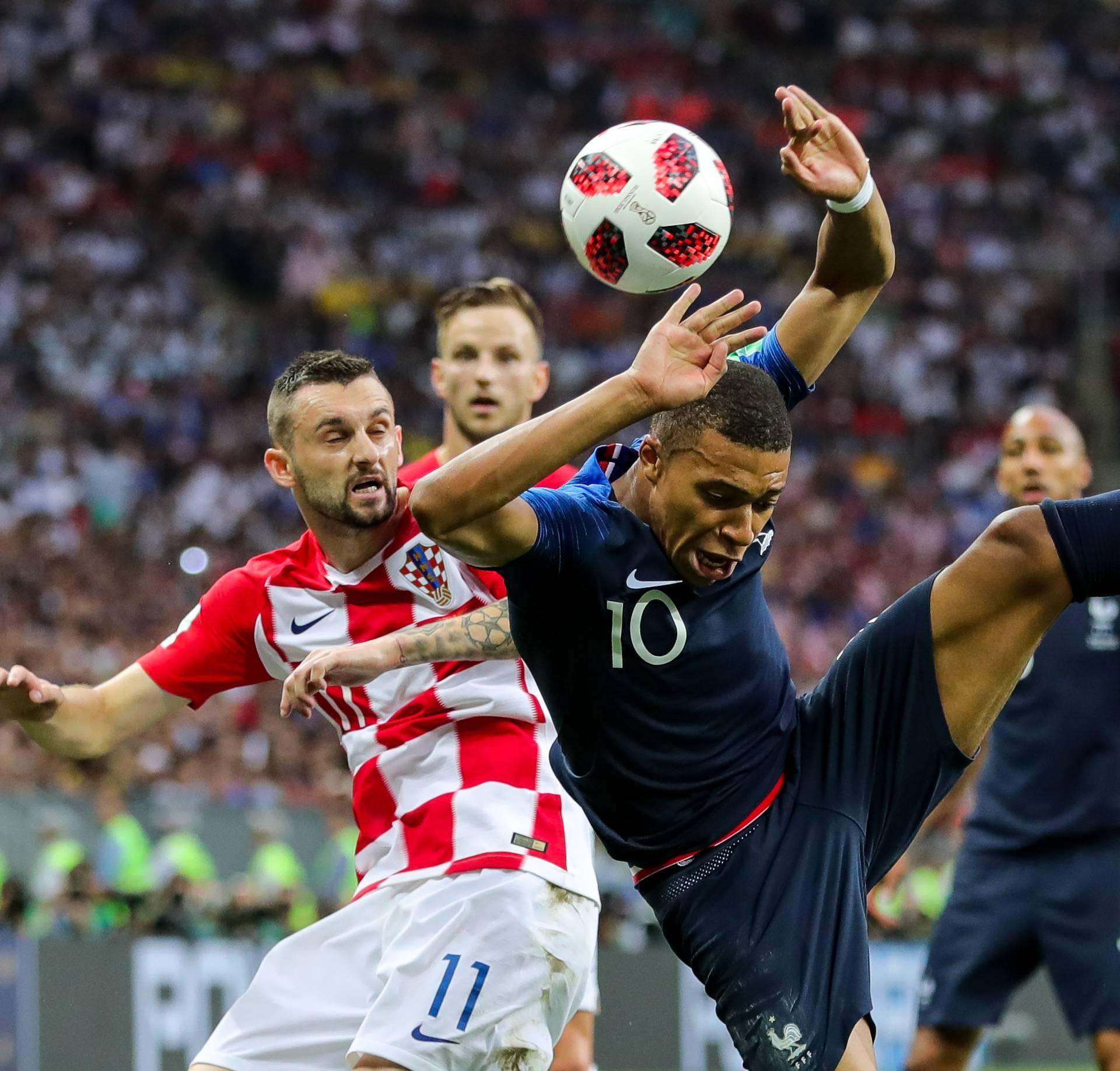 World Cup 2018 - France vs Croatia