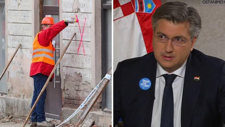 'U Petrinji će izgleda sve zgrade u centru dobiti crvenu oznaku'