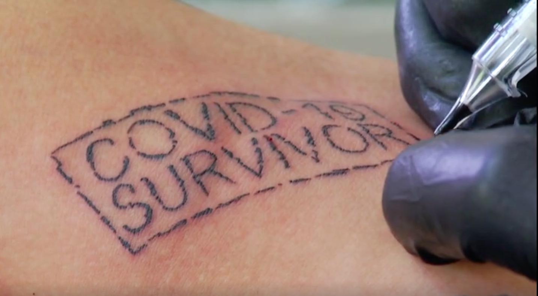 Besplatna tetovaža za one koji su preboljeli virus: 'Pričat ću unucima da sam imao koronu'