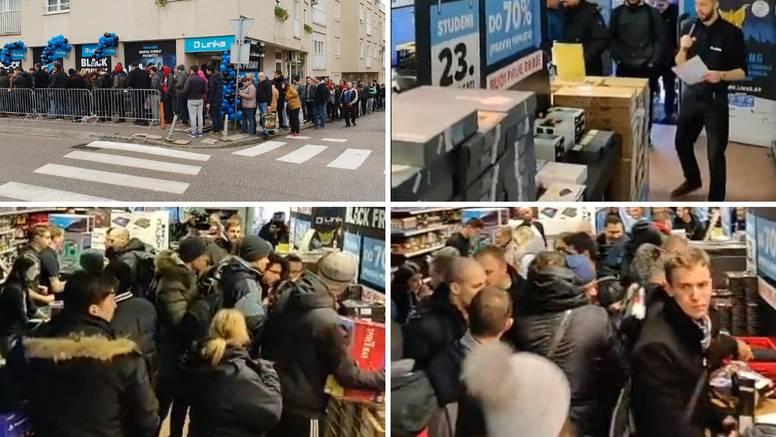 Black Friday ludilo u Zagrebu: U redu zbog jeftinih laptopa...