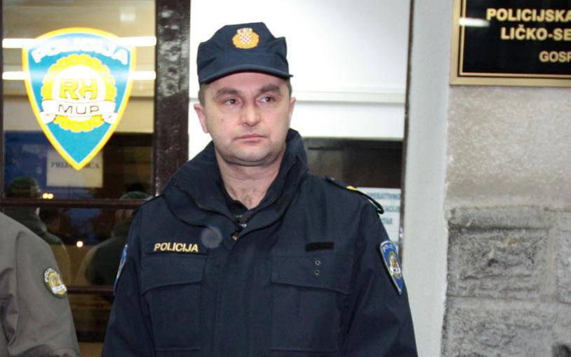 Bivši šef ličke policije Jurković nije varao na prekovremenima