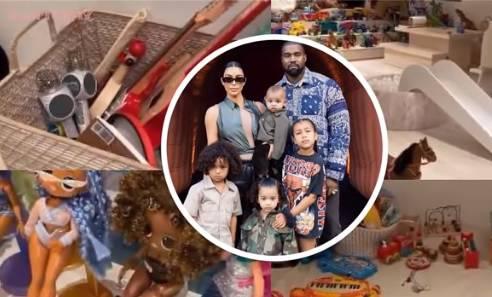 Kim pokazala dječju igraonicu u kući vrijednoj 60 milijuna $