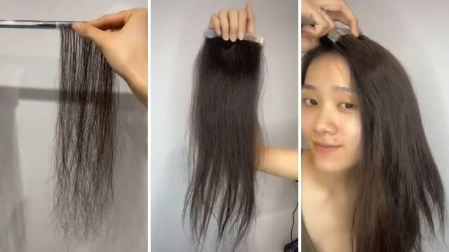 Dobra ideja ili ludost? Skuplja svoju kosu nakon tuširanja i sama si radi ekstenzije