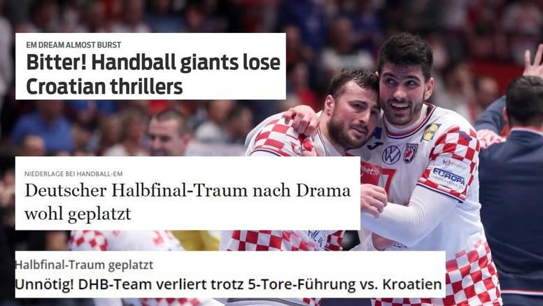 'Gorko! Rukometni giganti su izgubili u hrvatskom trileru...'