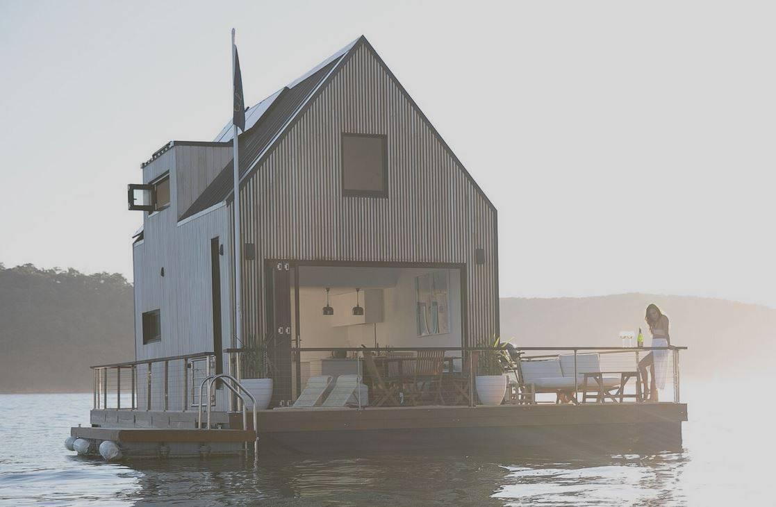 Bajkovit kraj izolacije u ovoj divnoj plutajućoj vili u Sydneyu