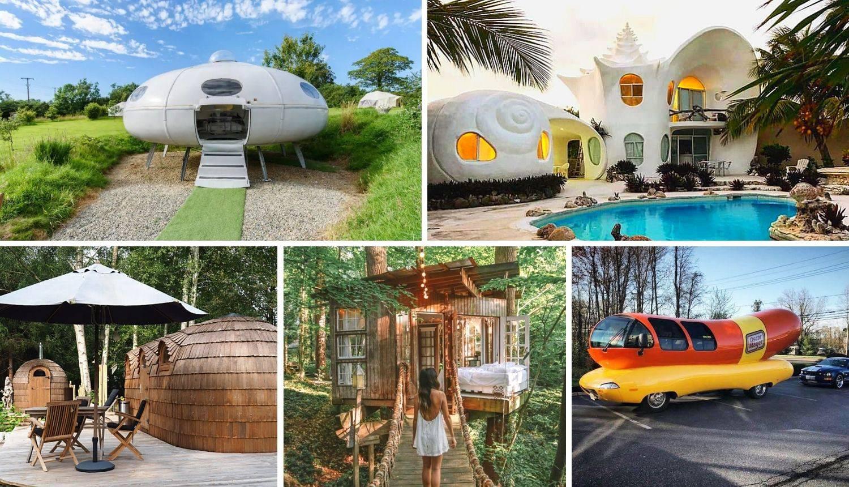 Najčudnije kućice u svijetu koje možete unajmiti, ali nije jeftino