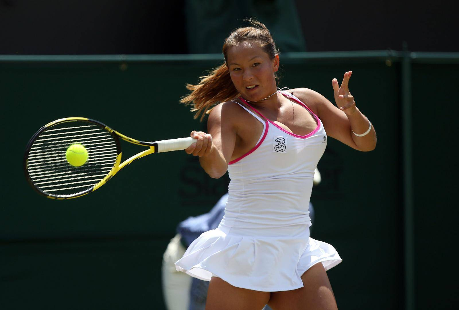 Tennis - 2014 Wimbledon Championships - Day Three - The All England Lawn Tennis and Croquet Club