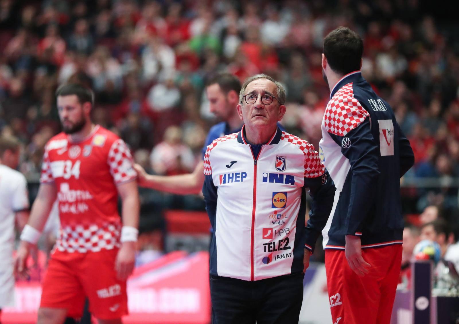 Beč: Hrvatska i Češka susreli se u drugom krugu Europskog prvenstva u rukometu