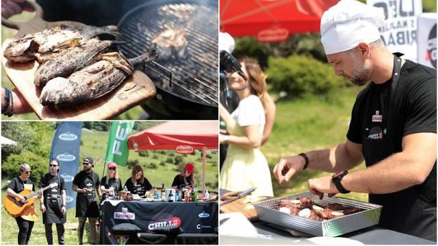 Vesela ekipa na Chill&Grillu: 'Za dobar roštilj važna je marinada'