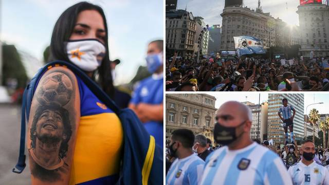 Argentinci žele pravdu za svog Maradonu: Nije umro, ubijen je!