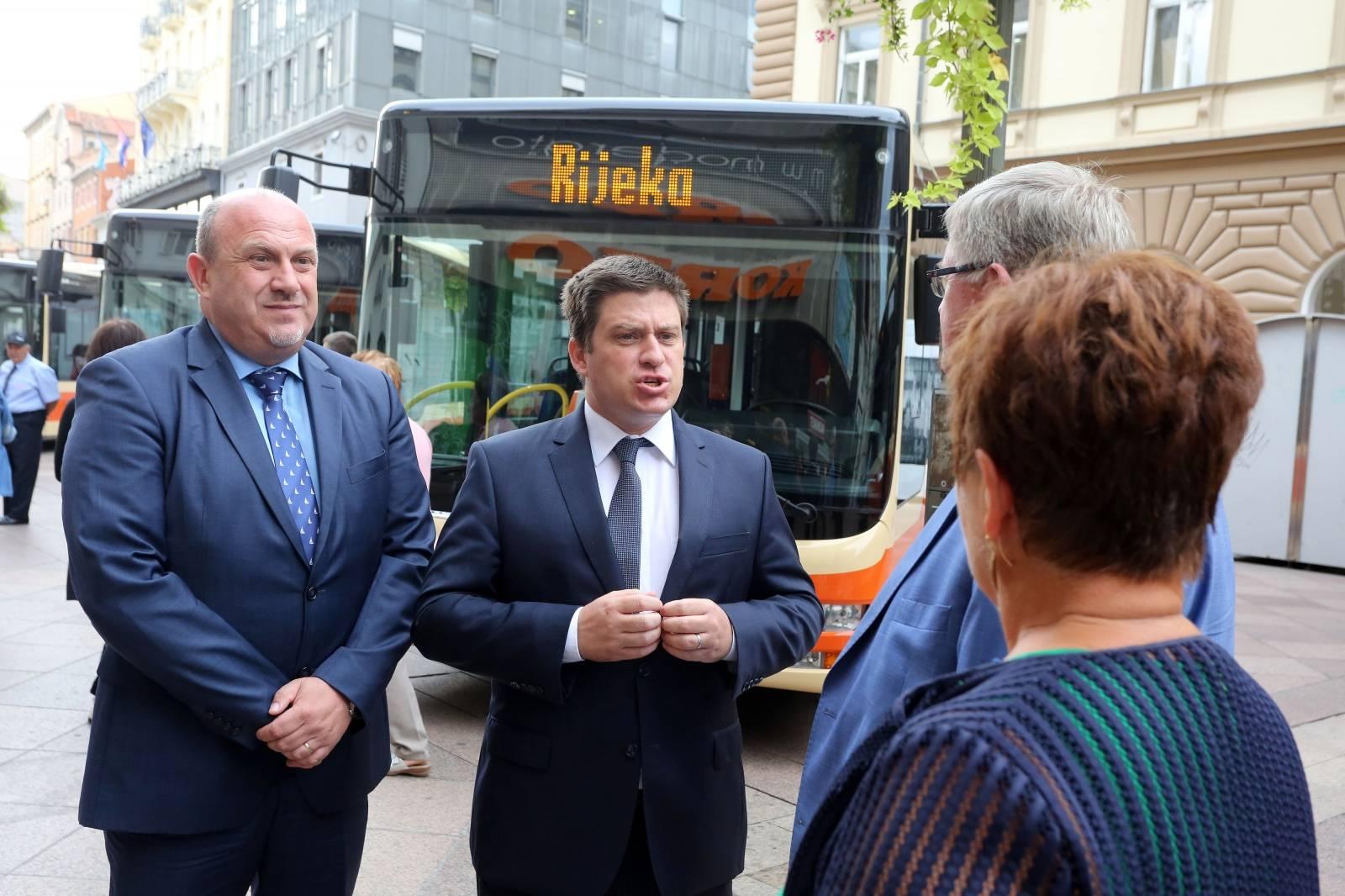 Rijeka: Autotrolej predstavo nove autobuse