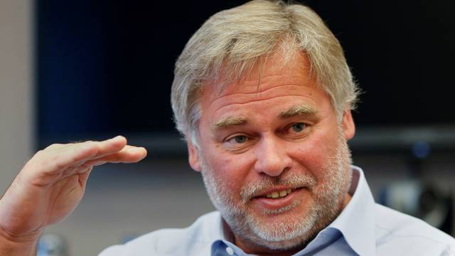 FILE PHOTO - Eugene Kaspersky, chairman and CEO of Kaspersky Lab during an interview in New York