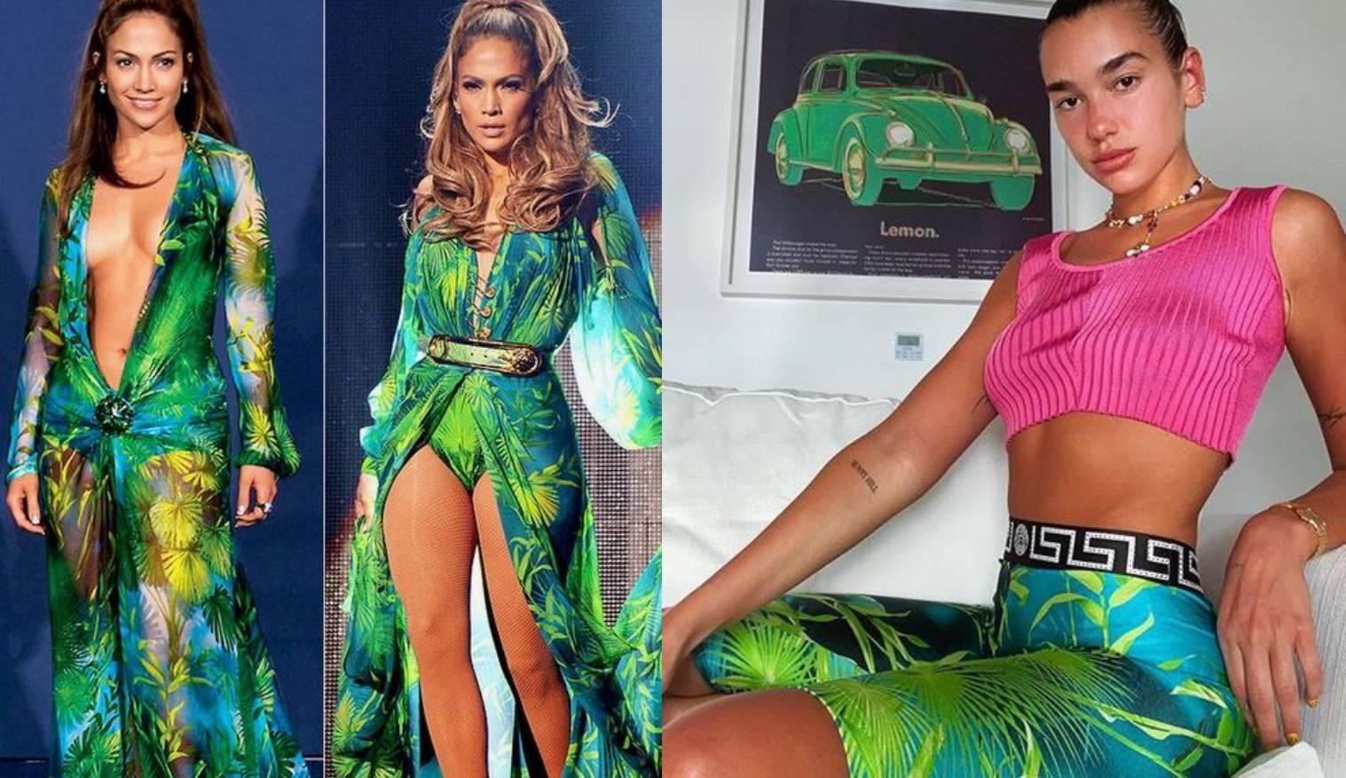 Pjevačice Dua Lipa i J. Lopez obožavaju slavni tropski uzorak