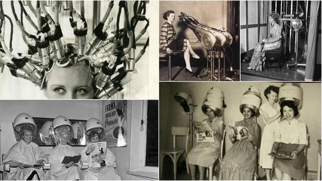 Prvi frizerski saloni: Rizik od gubitka kose i stravične mašine