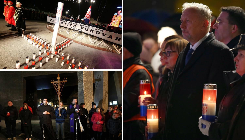 Diljem Hrvatske pale se svijeće u znak sjećanja na Vukovar