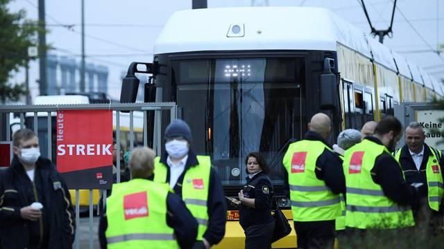 German trade union Verdi calls for strikes in the local public transport sector in Berlin.