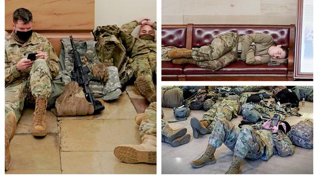 Fotografije koje su obišle svijet: Naoružana garda u Kongresu