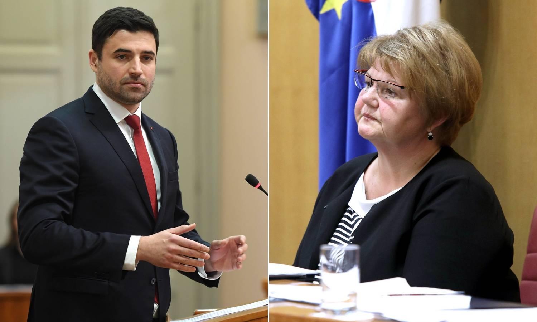 Bernardić: Murganić treba dati ostavku, priznala je da je kriva