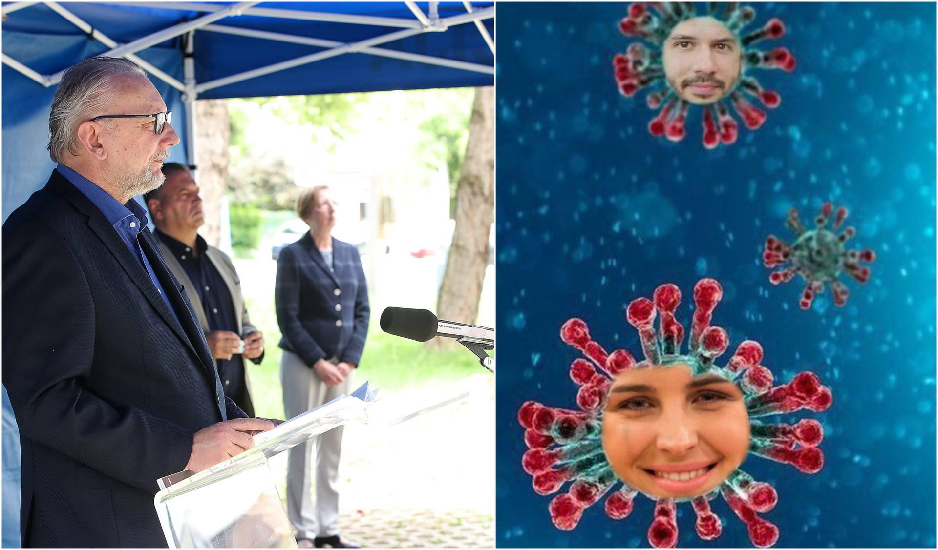 Stožer je objavio nove podatke: Danas troje novouplakanih zbog razvoda Doris Pinčić Rogoznice!