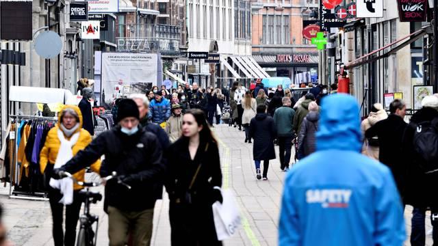 FILE PHOTO: COVID-19 pandemic in Copenhagen