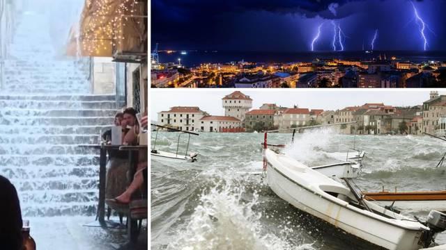 Šokantan kraj ljeta: Pljuskovi, olujno jugo i pad temperatura