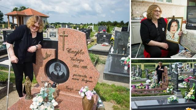 Očaj majke: Ubojica moje kćeri Valerije pokopan je pored nje...