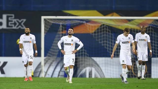 Europa League - Round of 32 Second Leg - GNK Dinamo Zagreb v Krasnodar