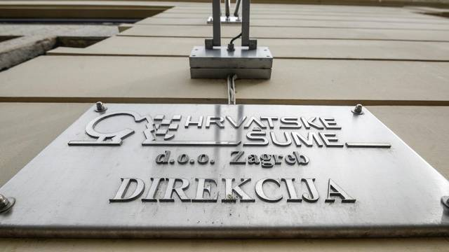 Zagreb: Policijska pretraga zgrade Hrvatskih šuma