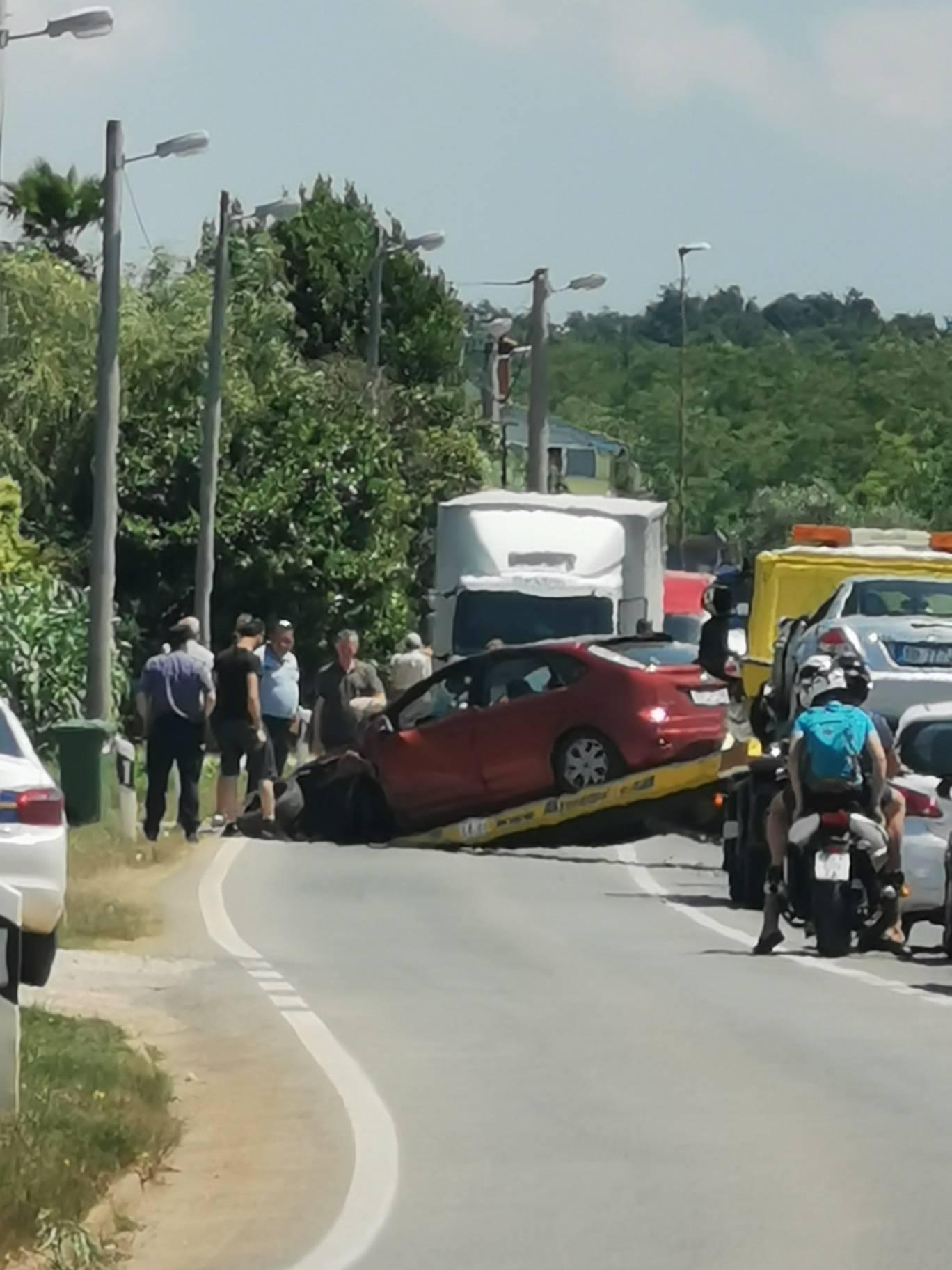 Na ulazu u Poreč sudarila su se tri auta, stvorila se velika gužva