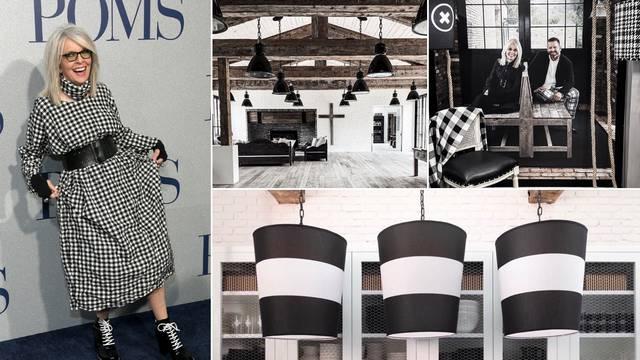 Crno-bijeli svijet Diane Keaton: Oskarovka oduševila dizajnom