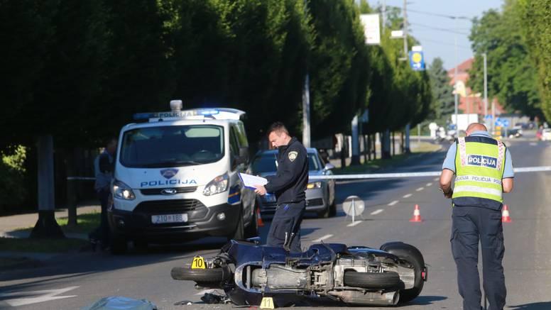 U Čakovcu poginuo motociklist